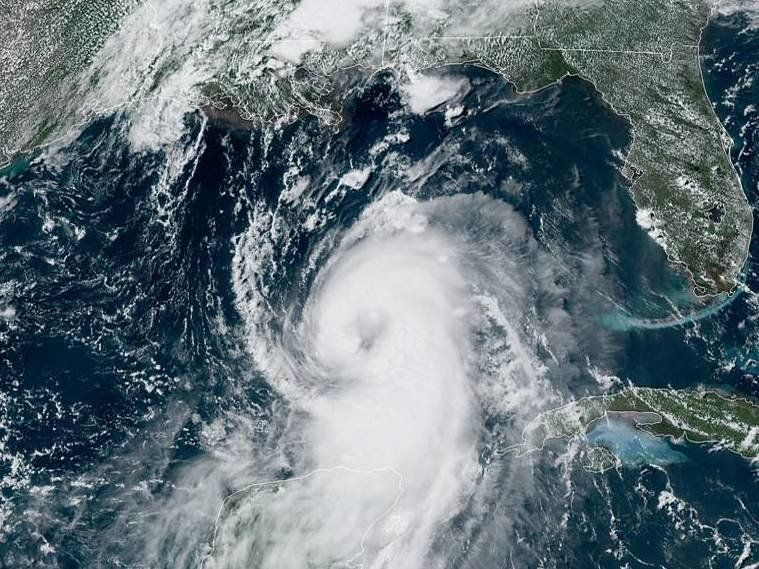 Hurricane Laura Building Damage